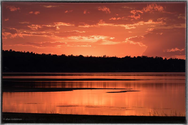 September 18th Sunset Constance Bay