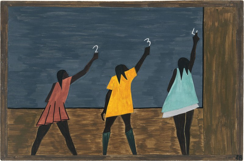 "Jacob Lawrence, ""The Migration of the Negro,"" panel 58, 1940-41"