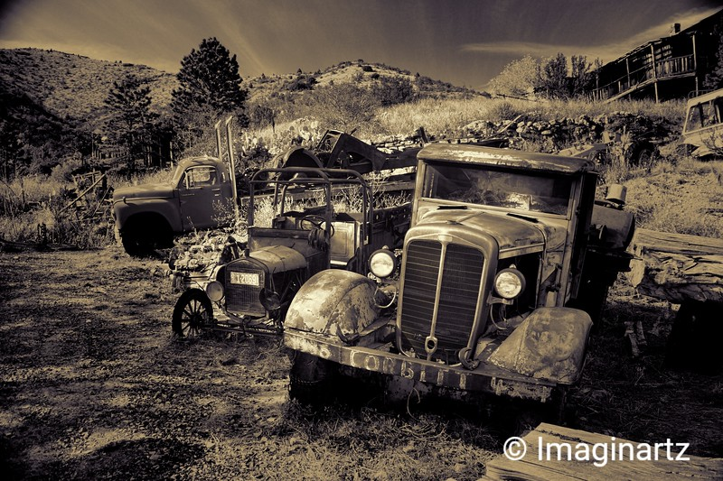 Nostalgia at Gold King Mine and Ghost Town - Jerome, AZ