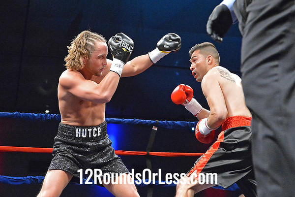 Bout 3  Billy Hutchinson  vs  Augustin Cicero