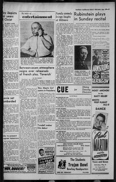 Daily Trojan, Vol. 34, No. 136, April 29, 1943
