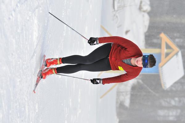 Nordic Ski Team at WUHS - practice