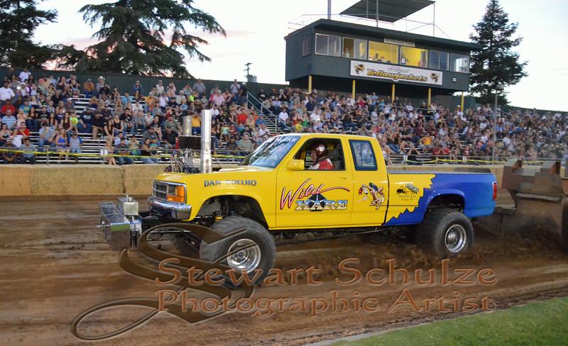 Hilmar tractor pull 2014
