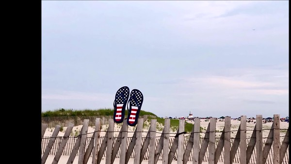 Jones beach on July 4th 2018