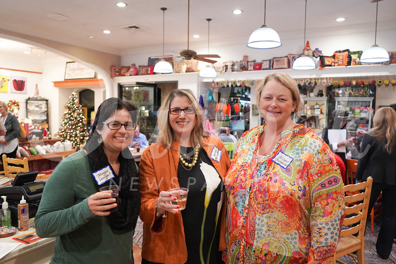 Maggie Lozoya, Joanne McLaughlin and Alison Hodgkiss