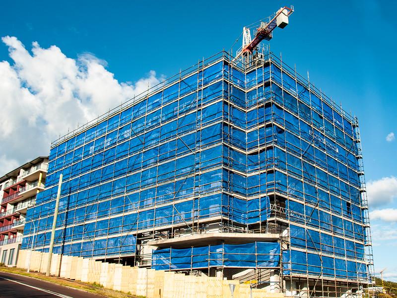 Building progress 135. At 47 Beane St. Gosford. September 2018.