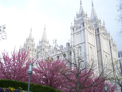 Salt Lake Temple, Utah