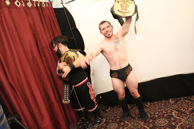 NCW Tag Team Championship Little Giants vs. NCW Tag Team Champions Kool People