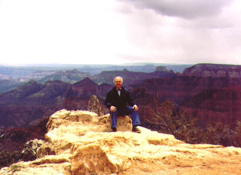 Wayne at north rim of Grand Canyon, May 1989 -1.jpg