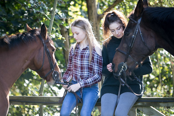 Younger Girls and Ponies