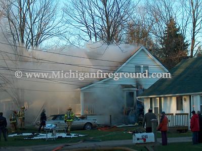 4/16/07 - Lansing house fire, 6250 Gardenia