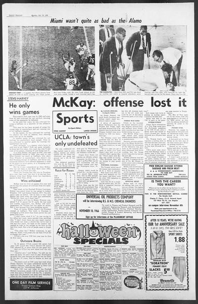 Daily Trojan, Vol. 58, No. 30, October 31, 1966