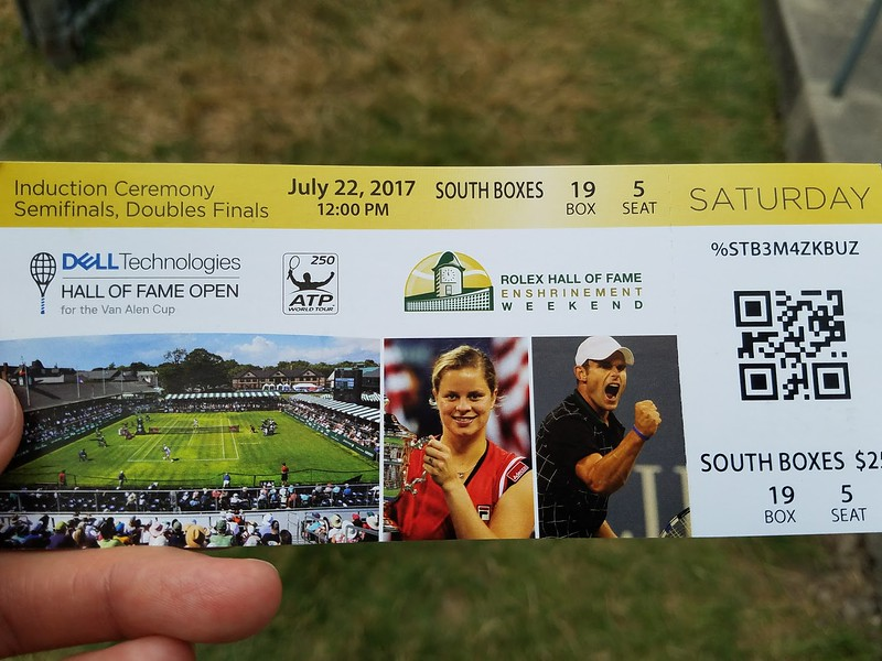 hof tennis ticket