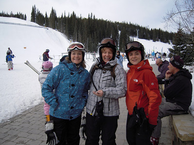 Stacy's Ski Trip with friends