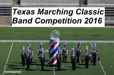 20161008 Texas Marching Classic Band Competition