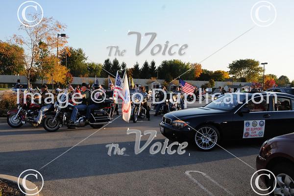 Joliet, IL Military welcome home for ARMY Reserve-E-4 SPC De'Marcus Nehmelman, Sgt. Sean West, Sgt. Justin Wojkowski, Sgt. Eric Munez, Sgt. Pawel Fulat, SPC Kevin Thomas, SPC Michael Collins, SPC Nichole Roper at Joliet VFW 10-6-11