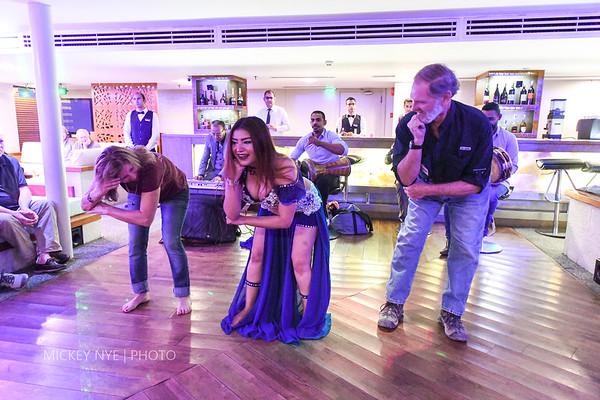 02-12-20 Egypt Day11  Luxor Belly Dancer
