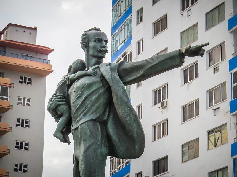 Elian Gonzalez commemorative statue