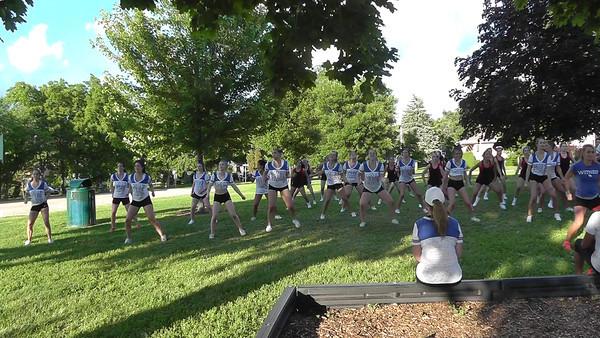 14-15 Varsity Camp Day 1 Videos