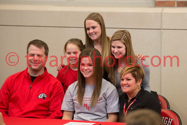 CHS Signing Day - Winter 2014
