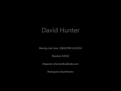 Pauline Hunter Album April 2014