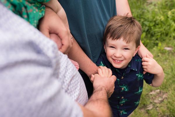 Bunting Family Portraits- Salisbury City Park