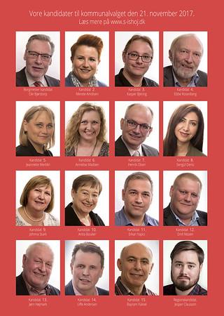 Valgfolder for Socialdemokratiet - Valg 2017