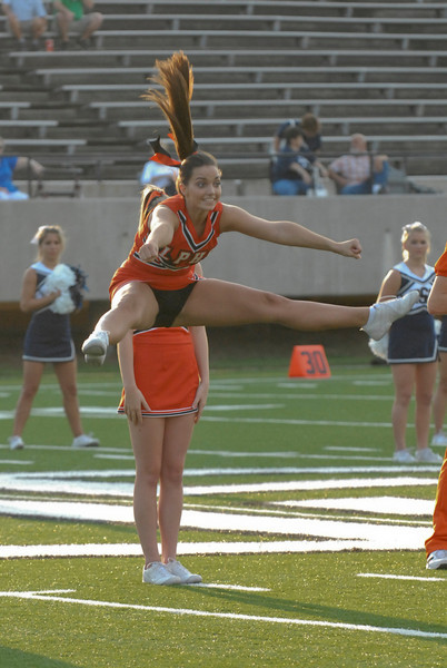 LPHS Cheerleaders 08-09