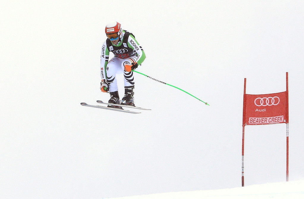 . Josef Ferstl of Germany in action during the men\'s downhill race for the Birds of Prey Audi FIS Ski World Cup on December 6, 2013 in Beaver Creek, Colorado.  (Photo by Doug Pensinger/Getty Images)