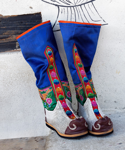 Ceremonial Monk Boots