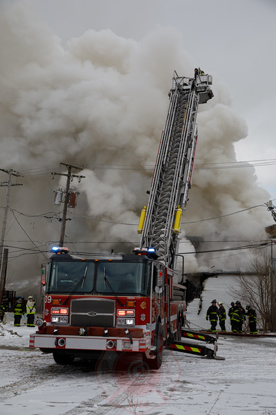 2-11 Alarm of Fire 110th Place and Michigan