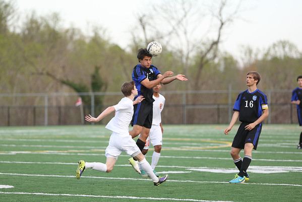 Western boys soccer beats CHS 2014