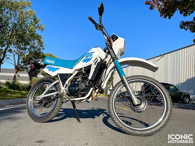 Yamaha DT50 (SAB) on IMA