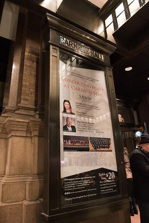 Mercer at Carnegie Hall