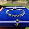 10.50ctw Round Brilliant Diamond Tennis Bracelet 35
