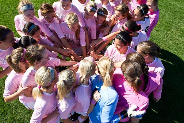 Womens Soccer October 7, 2012