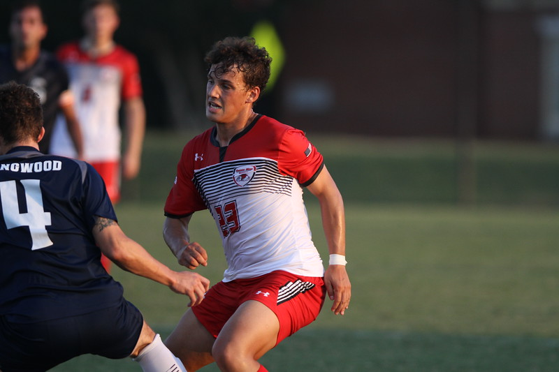 Gardner-Webb men's soccer team beats out Longwood in their first Big South Conference match of the season 3-1.