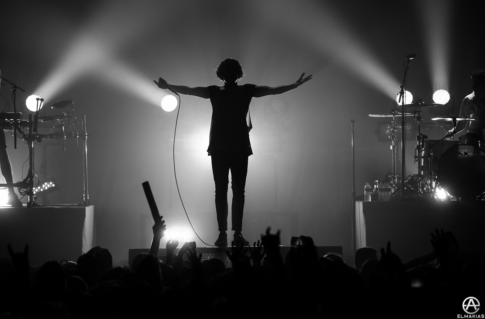 Oliver Sykes of Bring Me the Horizon by Adam Elmakias