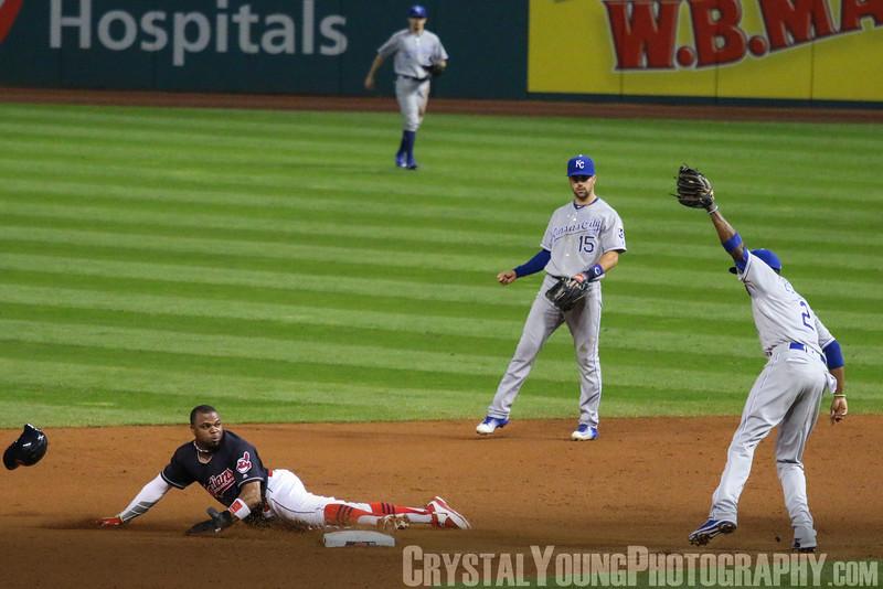 Kansas City Royals at Cleveland Indians Progressive Field, Cleveland OH September 21, 2016