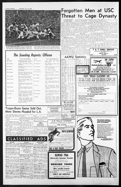 Daily Trojan, Vol. 57, No. 42, November 17, 1965
