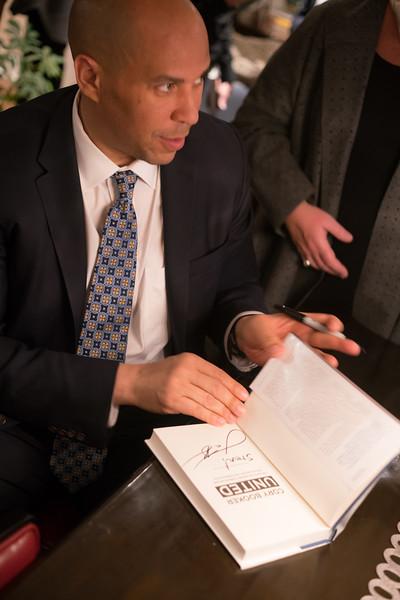 Cory Booker FAN Event