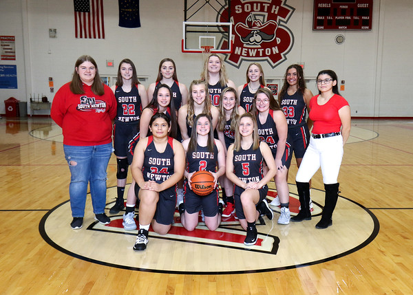 SNHS Girls Basketball Team 2019