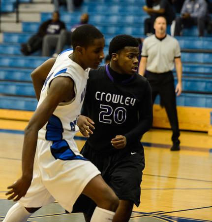 Basketball Junior Varsity vs  Crowley 12-11-13-2