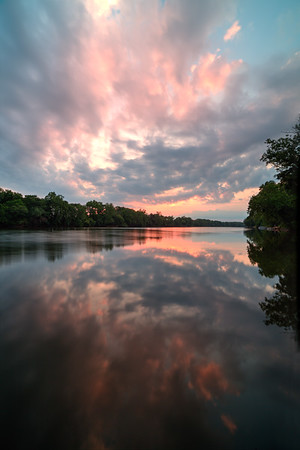 James River and Richmond VA