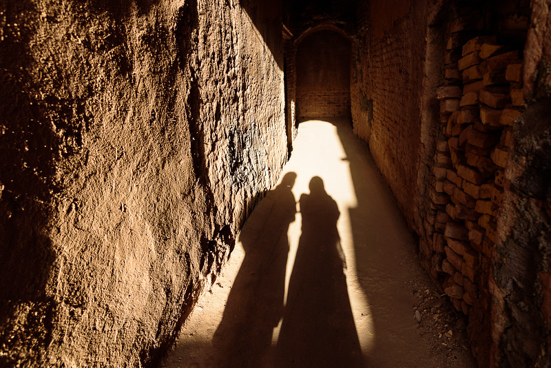 Friendship alley, Yazd