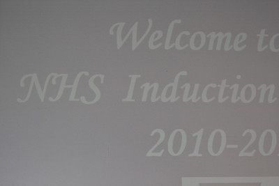 nhs induction 2011
