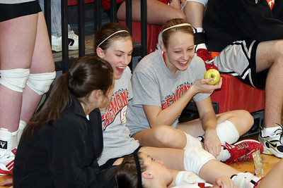 Girls Varsity Volleyball - 2006-2007 - 2/24/2007 Conference Grant