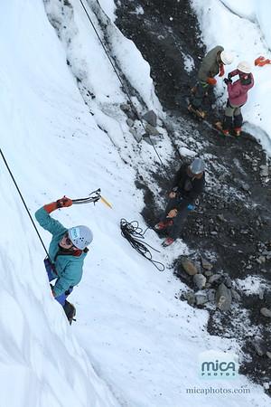 July 28 Ice Climb with Sam and Jesse