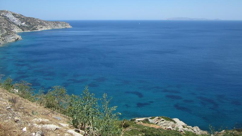 The coast around Heraklion