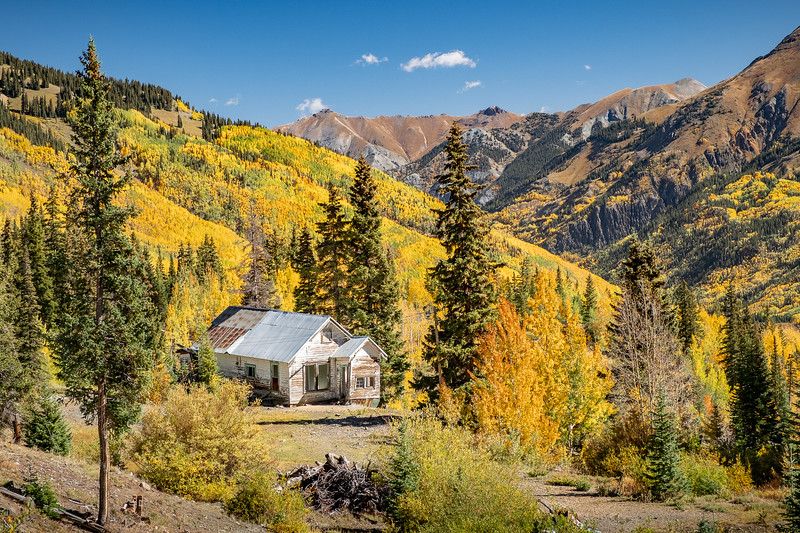The Million Dollar Highway (Route 550), Colorado